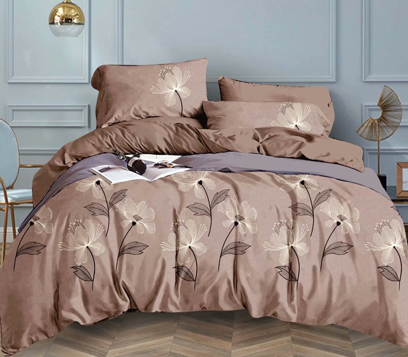 printed style bed sheet set