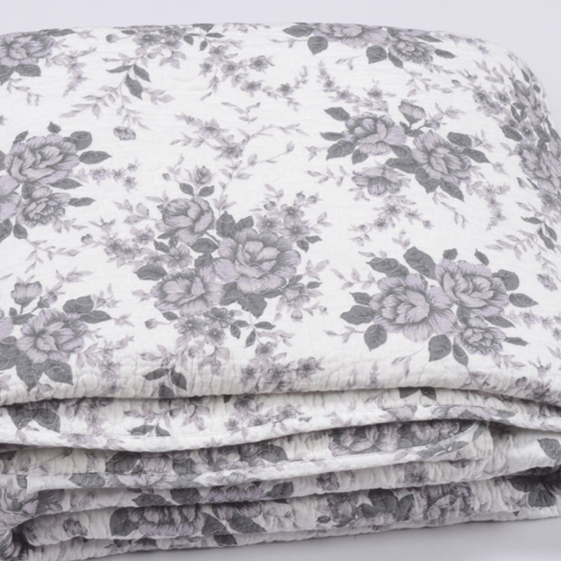black rose printed quilts