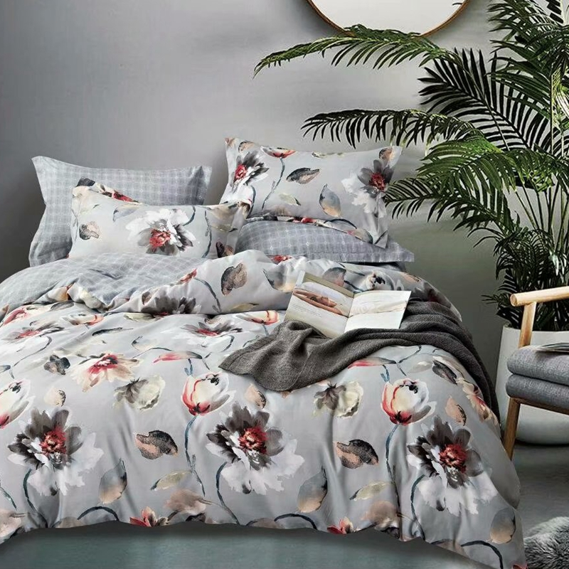 2020 floral bed sheet set