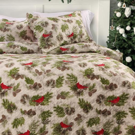 Christmas Printed Quilt Sets