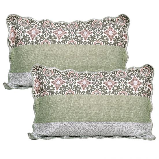 quilted pillow shams sheets and pillowcases