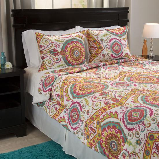 Reversible 3 Piece  Quilt Set with Sherpa