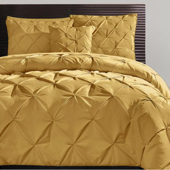 Reversible Comforter Set with Throw Pillows