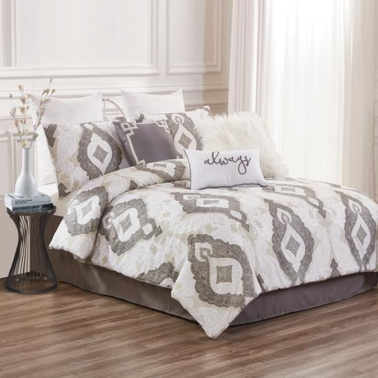 taupe damask 7pc tješitelj