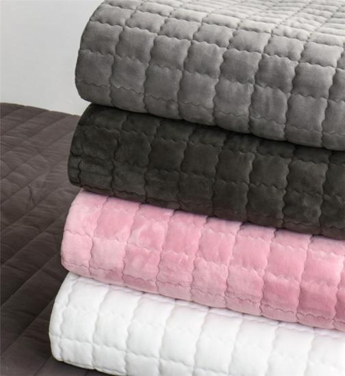 oversized velvet embroidery quilts